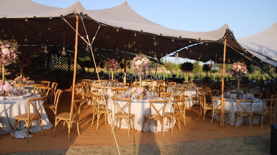 Alquiler de carpas para bodas 9