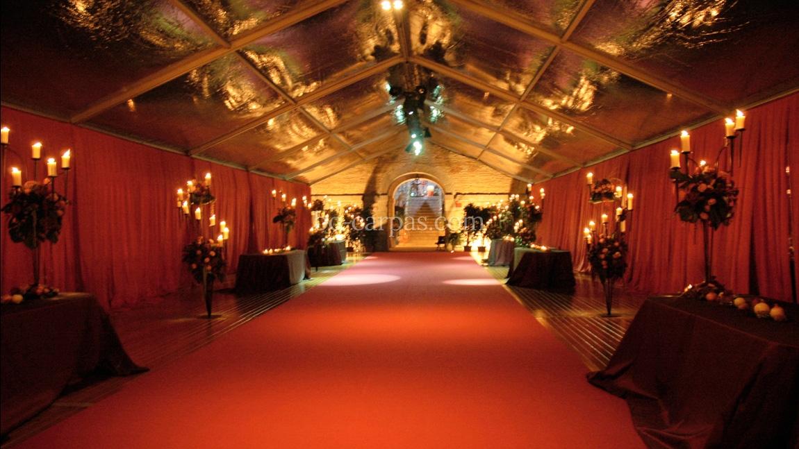 Alquiler de moqueta para bodas y celebraciones bc carpas for Moqueta pasillo