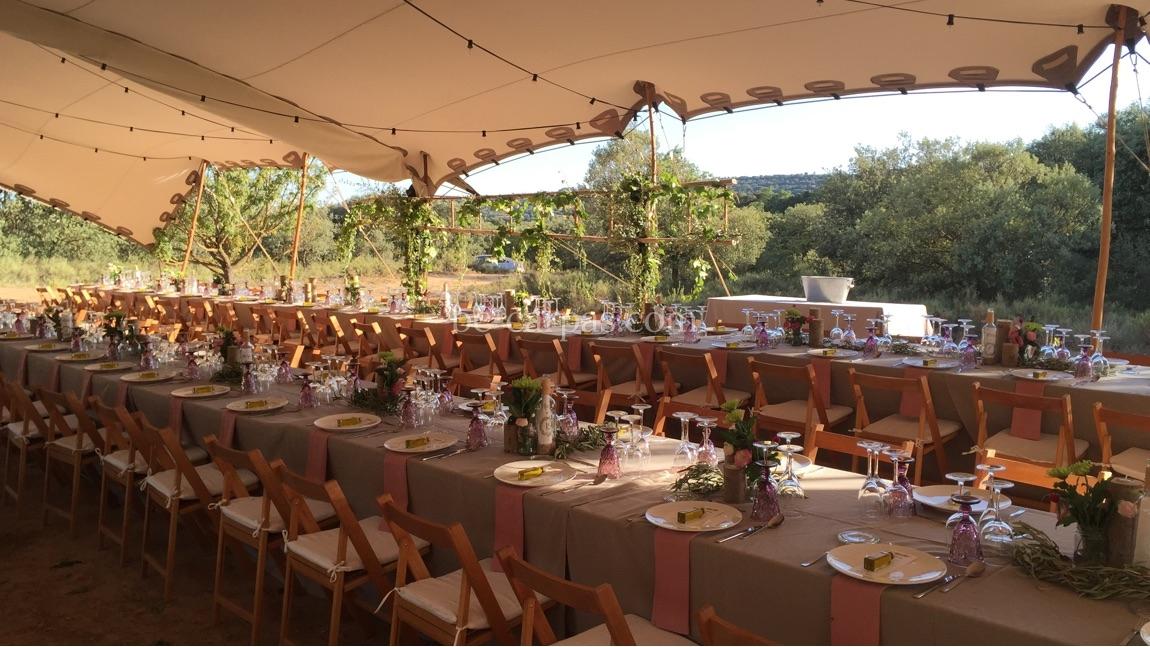 Alquiler de carpas para aniversarios bc carpas for Alquiler decoracion bodas