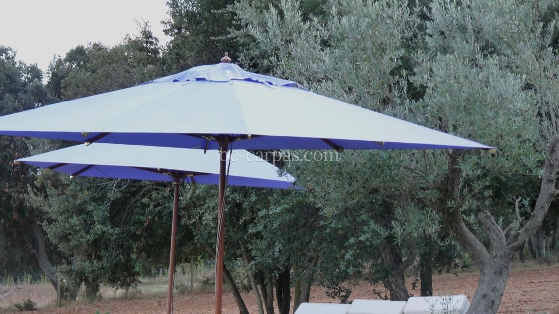 Alquiler de parasoles y sombrillas para eventos 6