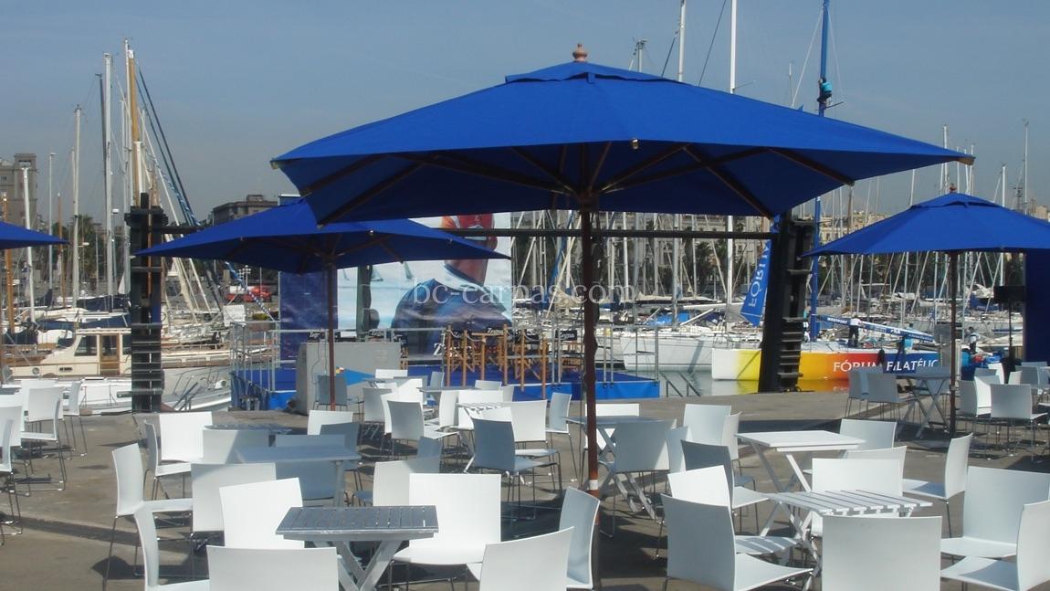 Alquiler de parasoles y sombrillas para eventos 9