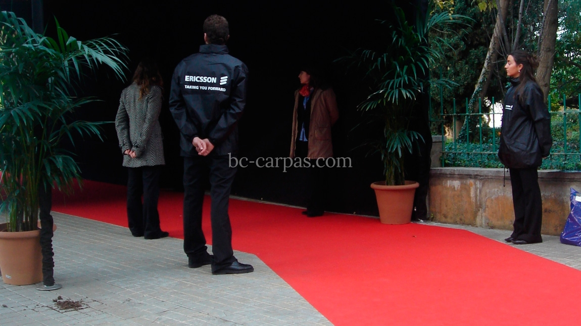 Alquiler de moqueta para eventos bc carpas for Moqueta pasillo