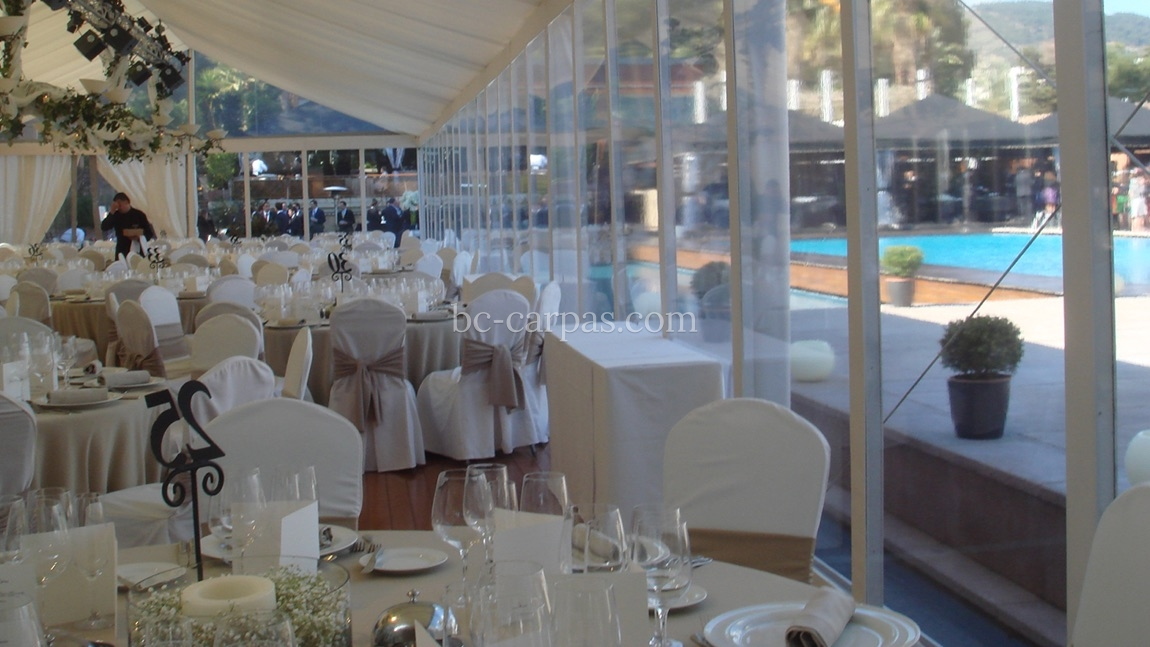 White marquee hire 7