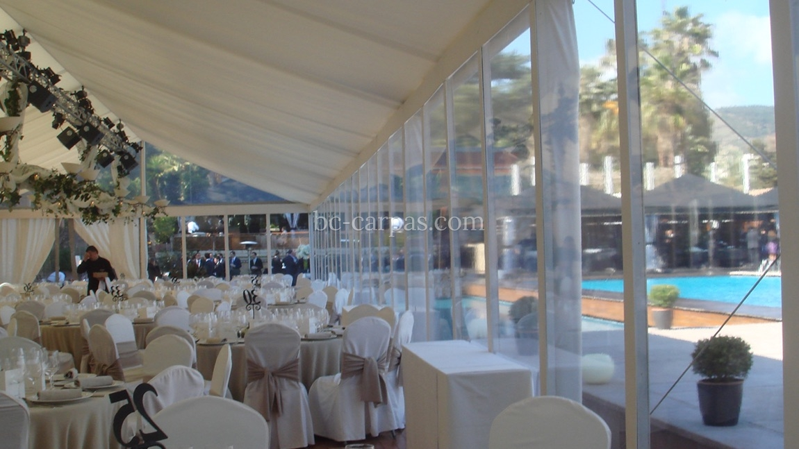 White marquee hire 10