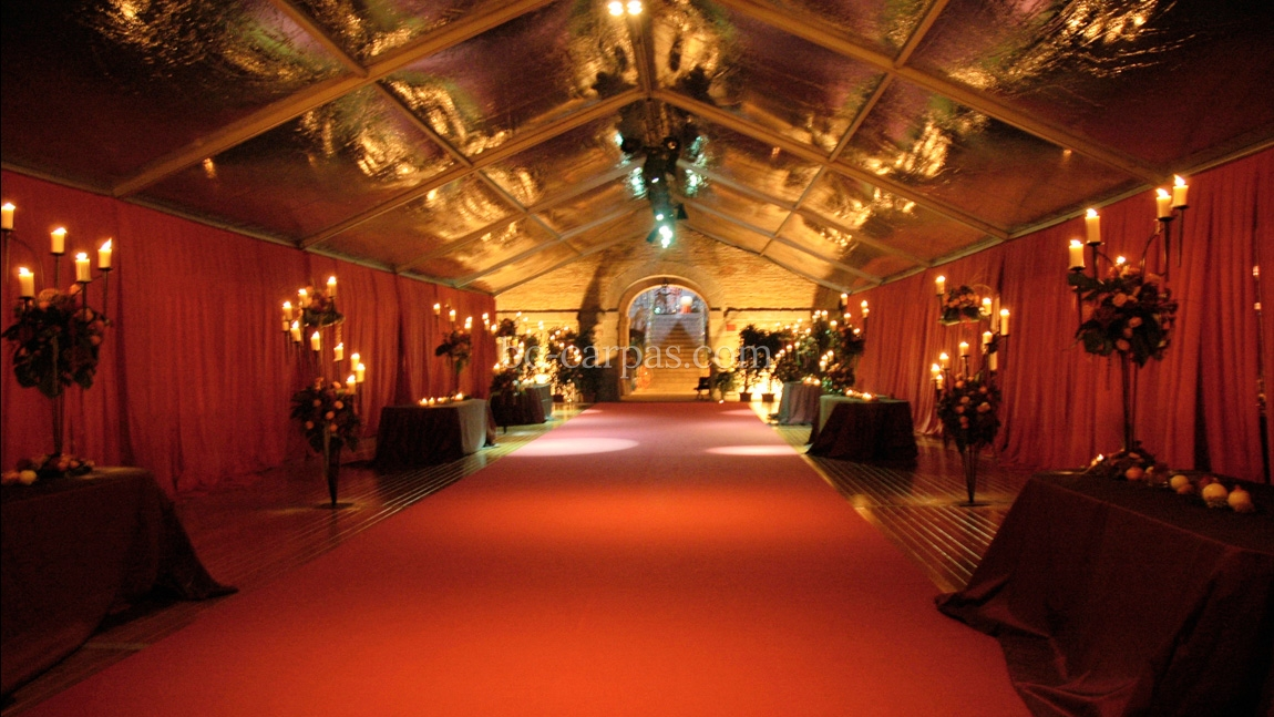 Carpet hire for weddings and celebrations 2