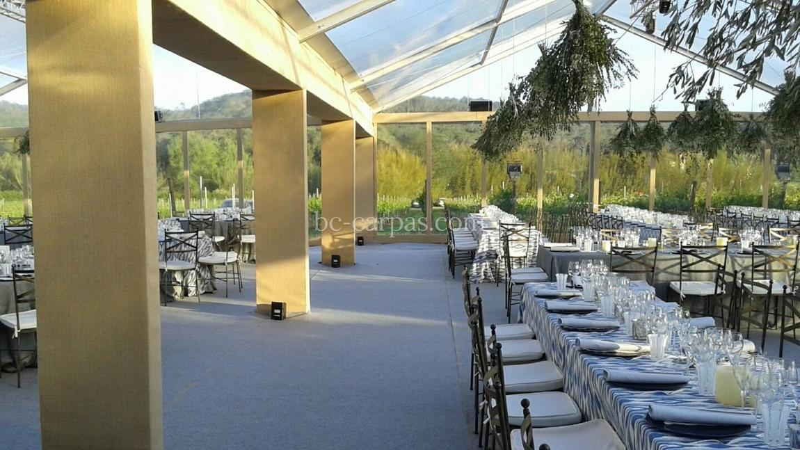 Тент для свадьбы в провансальском стиле 4