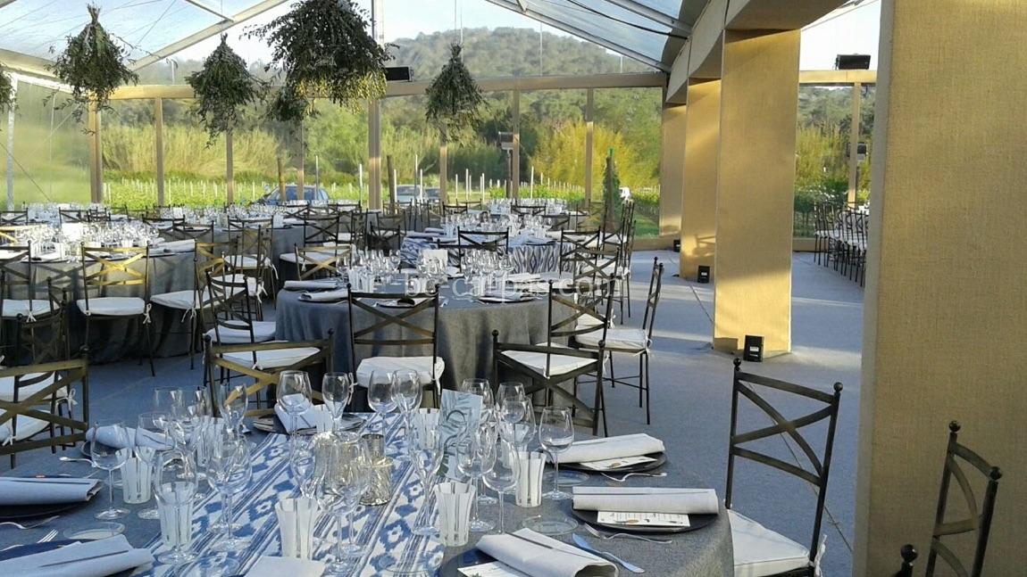 Тент для свадьбы в провансальском стиле 5