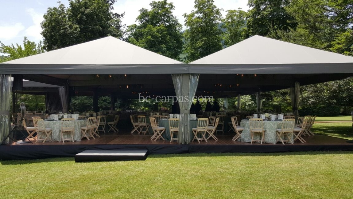 Modular marquee hire or events 6