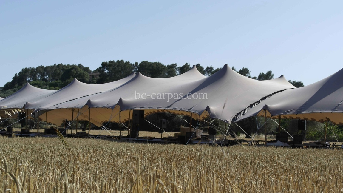 Tension canopy marquee hire 2