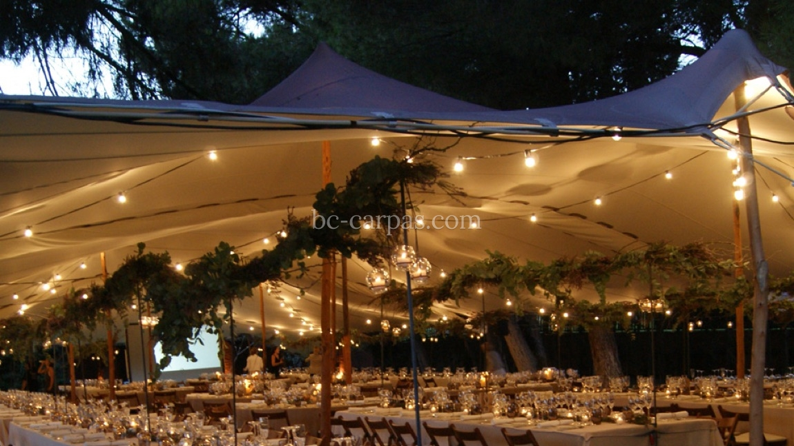 Tension canopy marquee hire 4