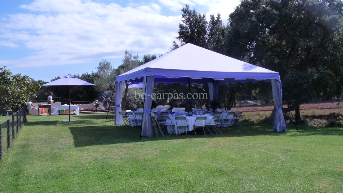 Marquee hire for christenings 5