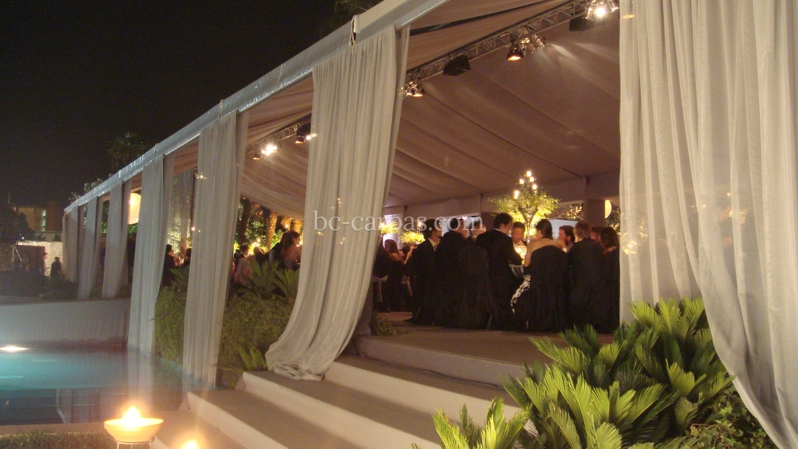 Enclosures for weddings and celebrations 6