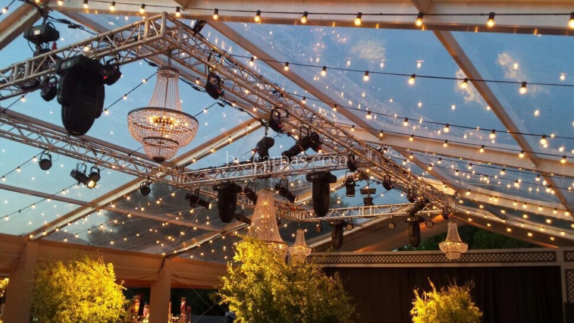 Lighting for weddings and celebrations 4
