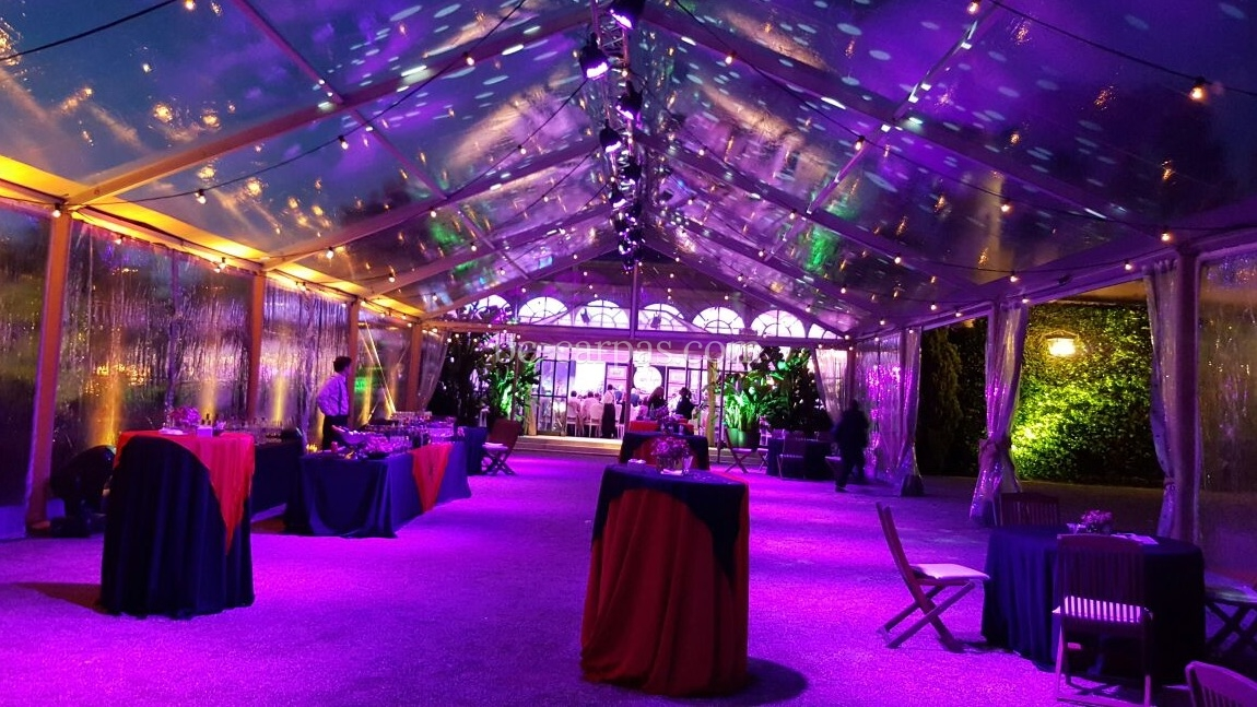 Lighting for weddings and celebrations 11