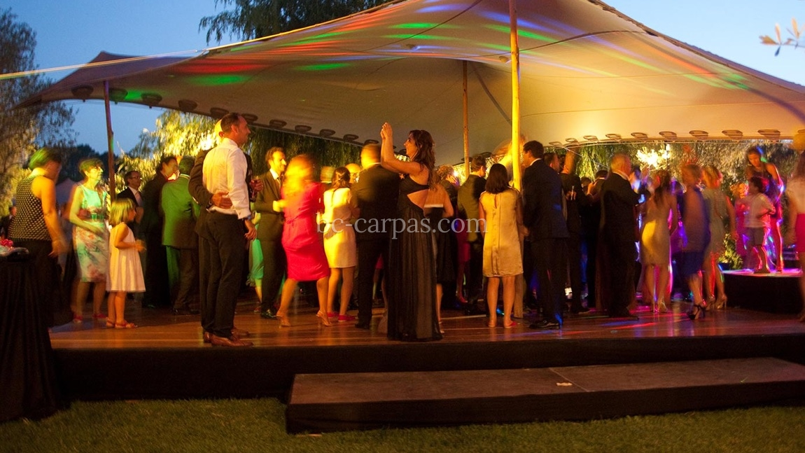 Dance floor hire for weddings and celebrations 1