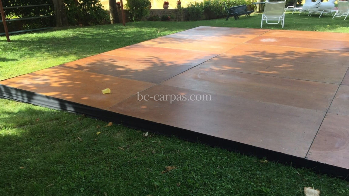 Dance floor hire for weddings and celebrations 3