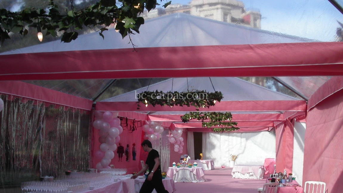 Marquee hire for communions 6