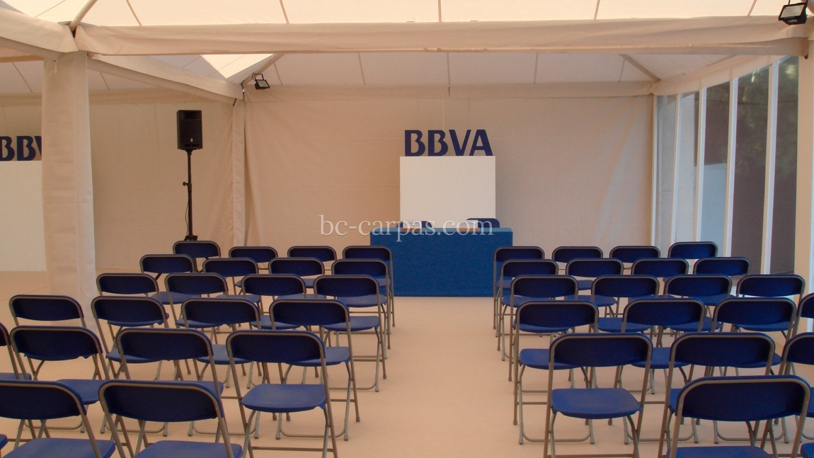 Marquee hire for presentations 2