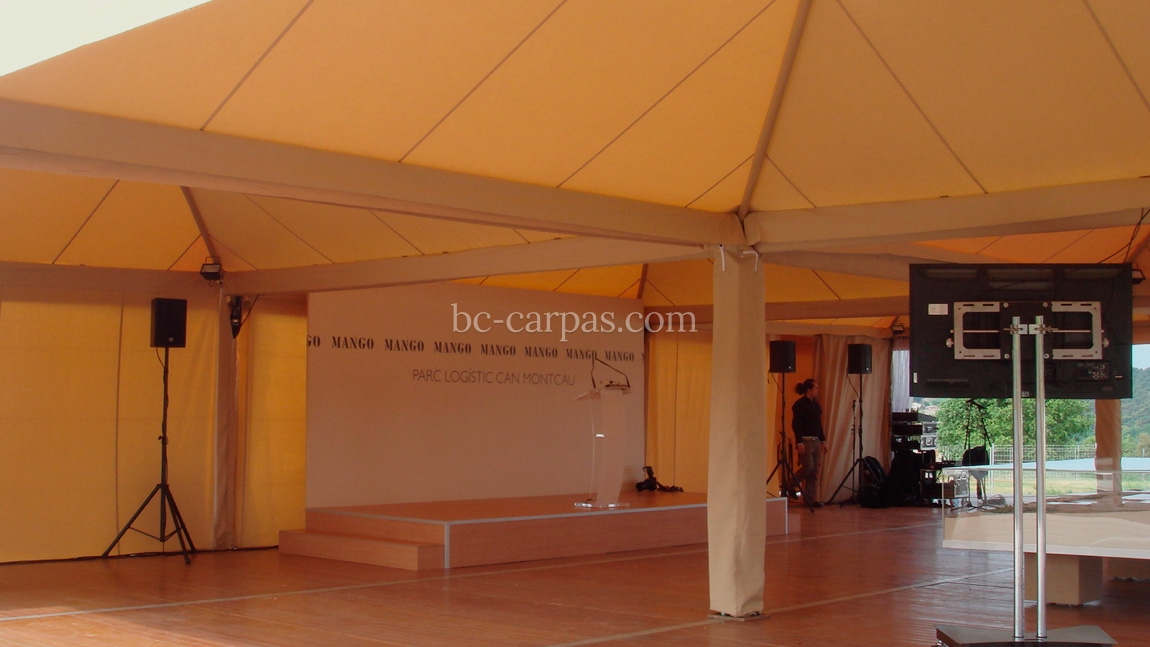 Marquee hire for presentations 6