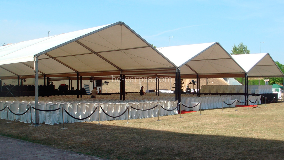 Marquee hire for presentations 7