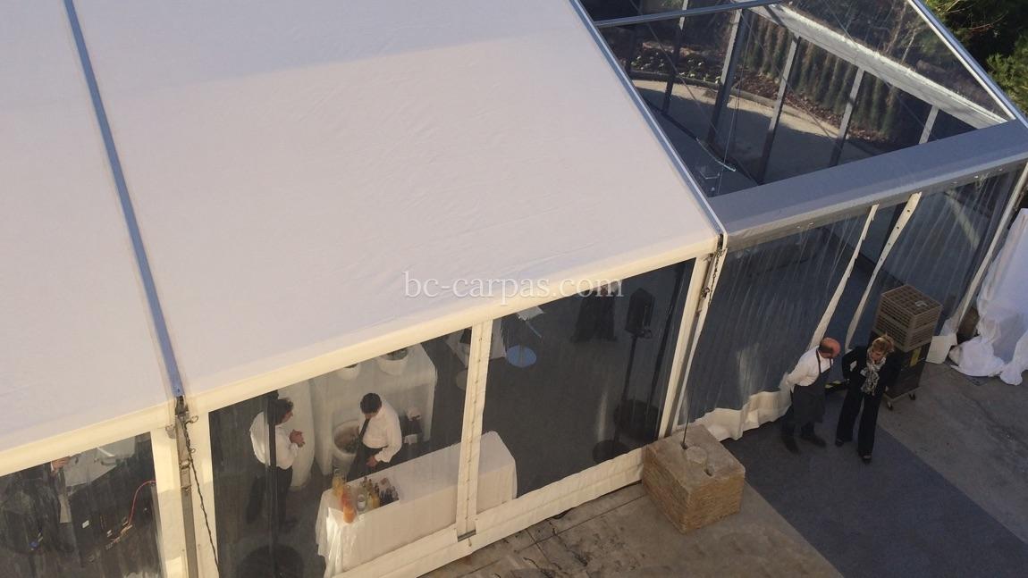 Alquiler de carpas color blanco 13