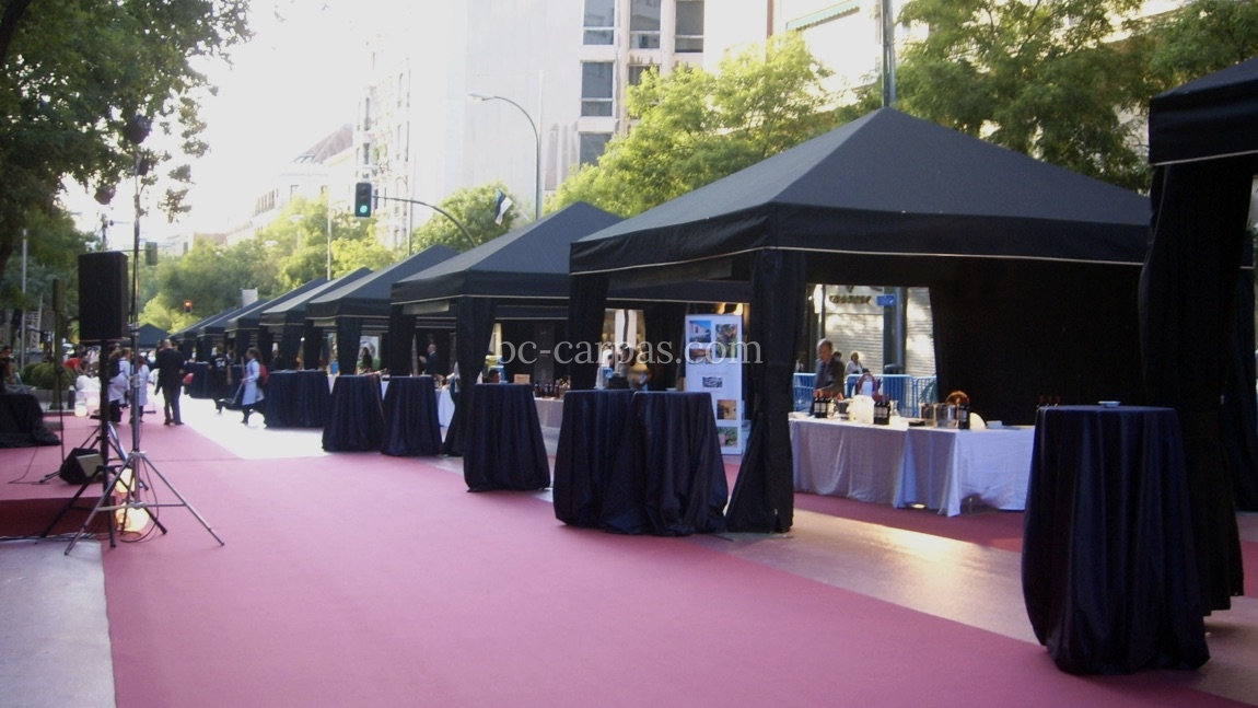 Black marquee hire 2