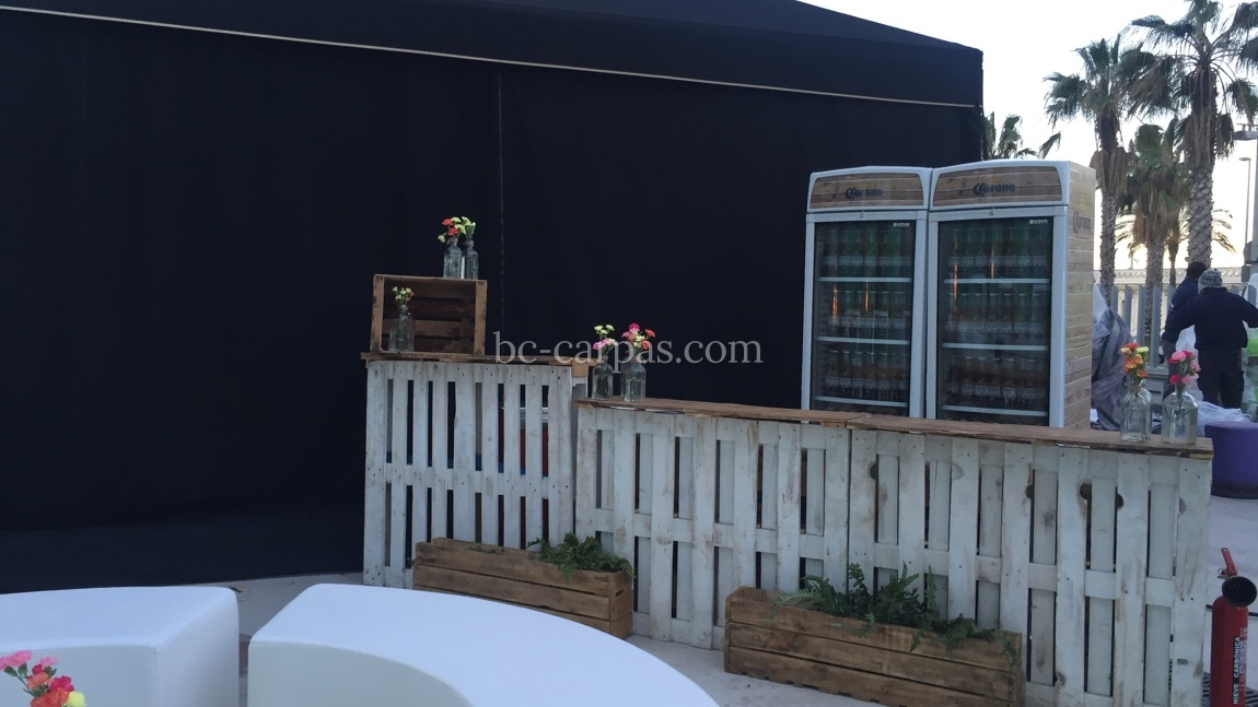 Black marquee hire 4