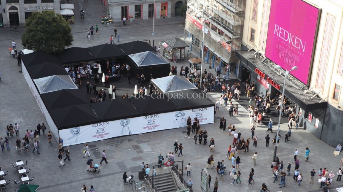 Black marquee hire 9