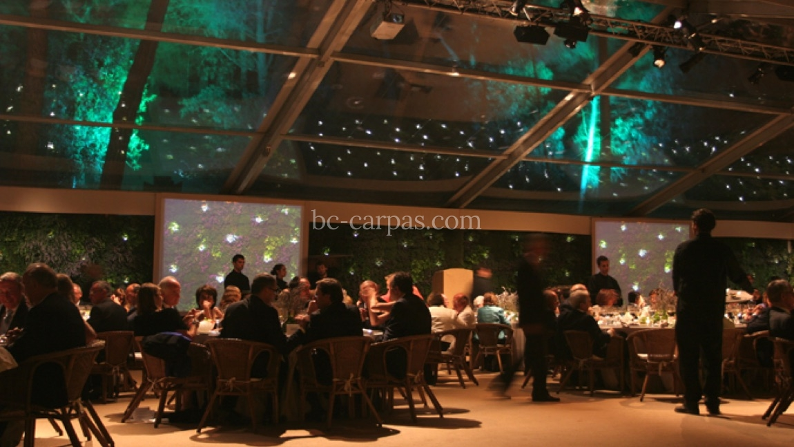 Transparent marquee hire for events 14