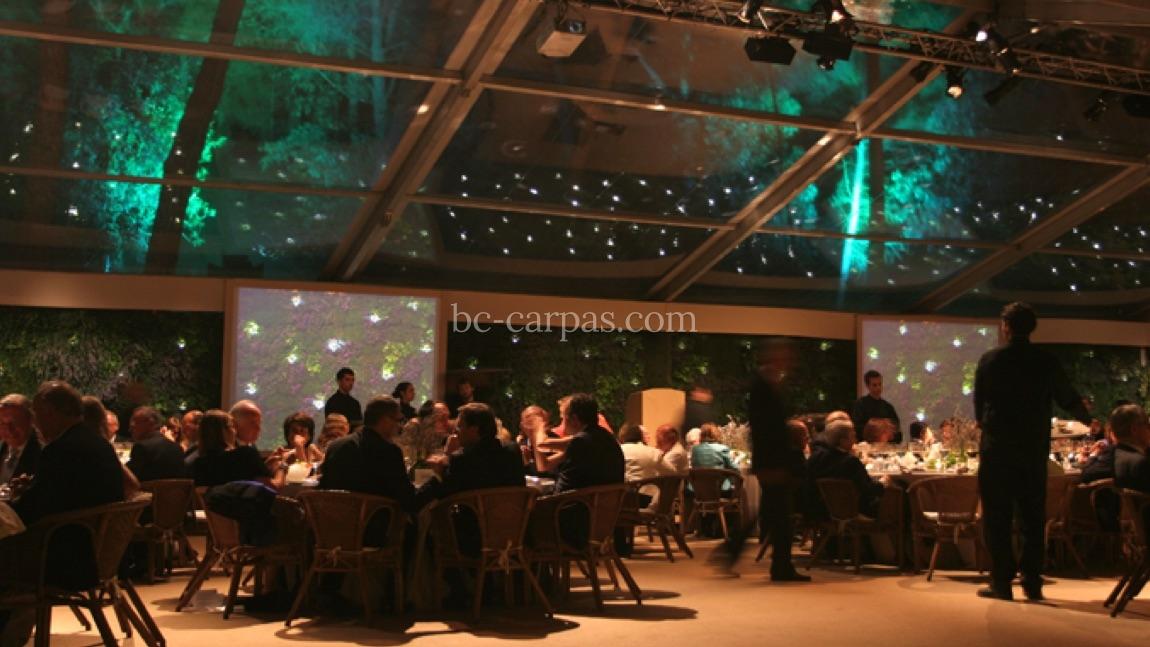 Alquiler de carpas transparentes para eventos 14