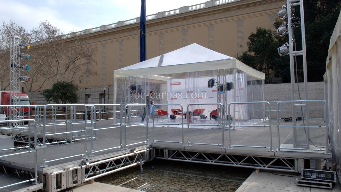 Alquiler de carpas transparentes para eventos 17