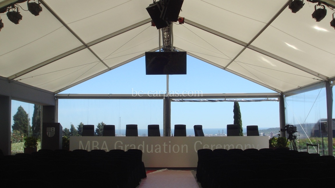 Large pavilion style marquee hire 2