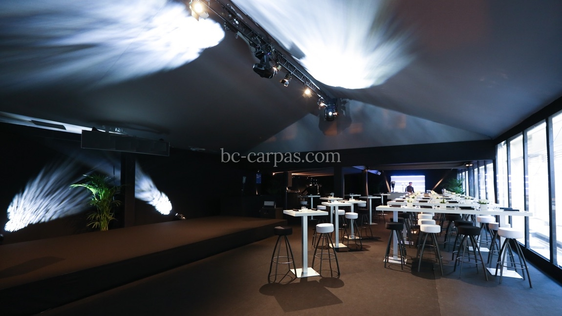 Large pavilion style marquee hire 4