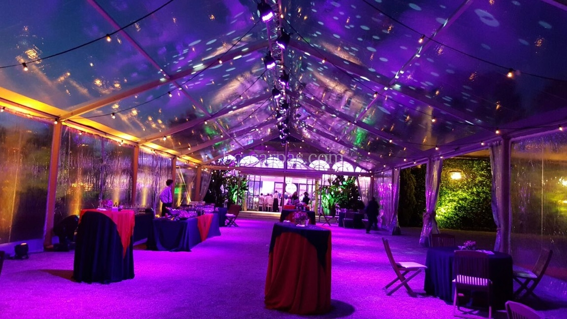 Large pavilion style marquee hire 5