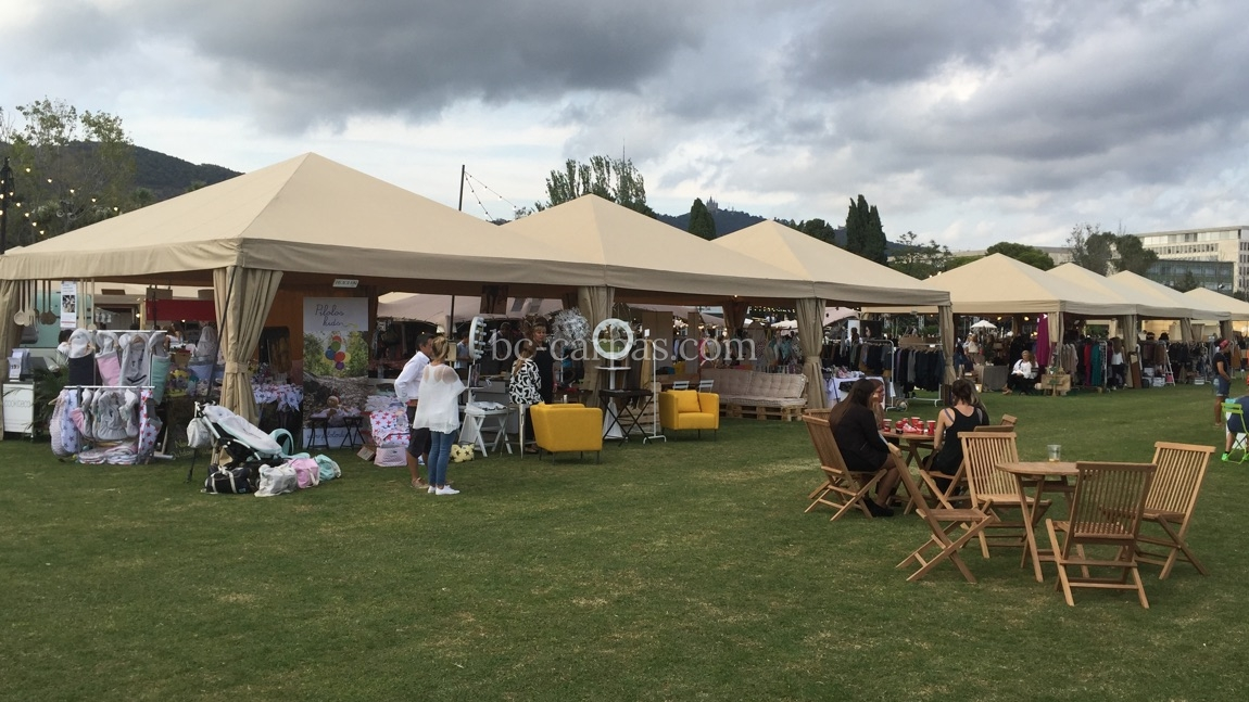 Marquee hire for fairs 5
