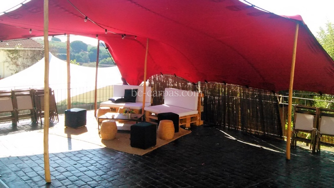 Tension canopy marquee hire 8