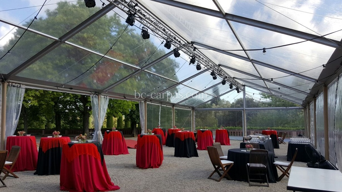 Marquee hire for product launches 8