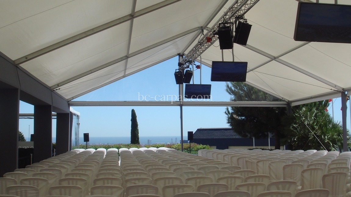 Marquee for IESE 3